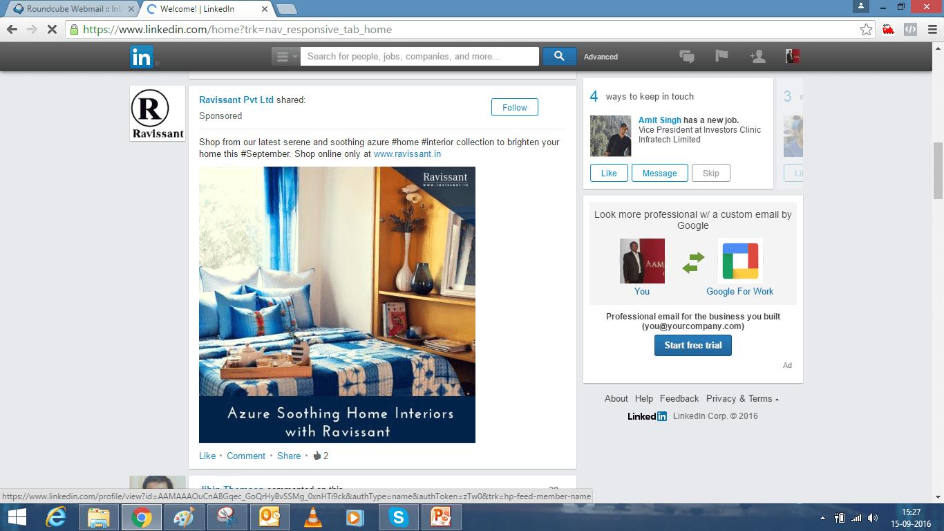 Social Media , Facebook , LinkedIn